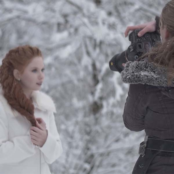 Making Of - Wild Winter - Wedding Styled Shoot