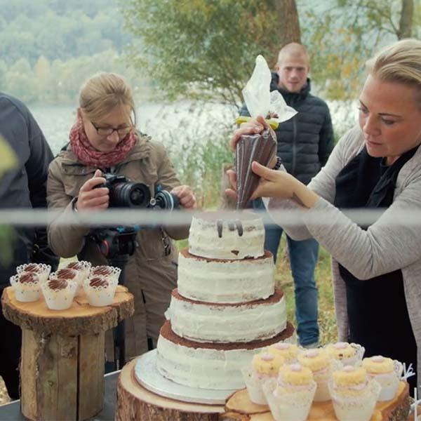 Wedding Styled Shoot - Das making of
