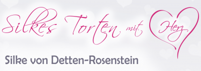 Silkes Torten mit Herz Logo