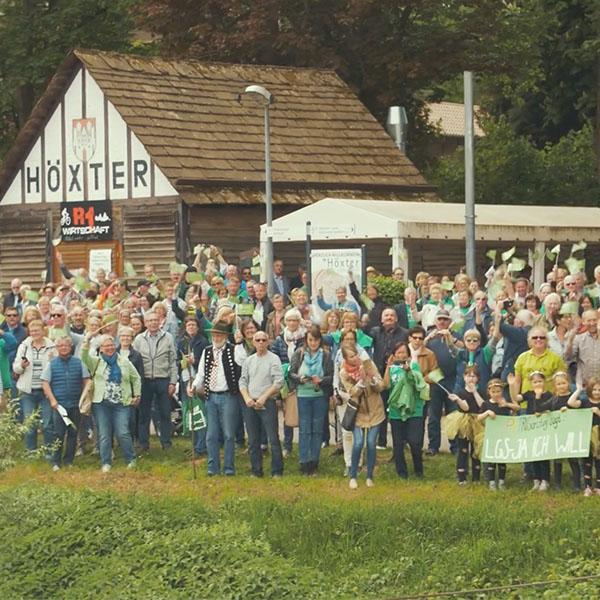 Doku - Höxters Bewerbung für die Landesgartenschau 2023